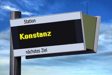 Anzeigetafel 6 - Konstanz