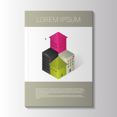 Brochure template. Vector illustration