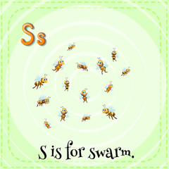 A letter S for swarm