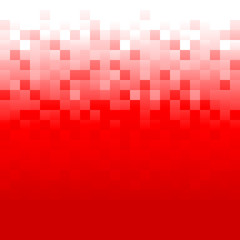Red Pixel Background