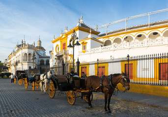 Plaza de Toros.  Seville