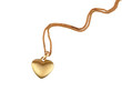 Golden heart pendant - 76464626