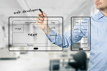 website and mobile app development
