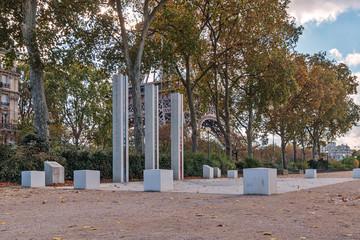 National War Memorial in Algeria, Morocco and Tunisia on the Qua