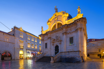 Church of Saint Blaise. Dubrovnik. Croatia.