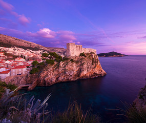 Fort of St. Lawrence (Fort Lovrjenac) in Dubrovnik, Croatia