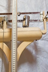 long measuring rod of an old Pediatric scales to measure the you