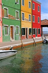 colorful houses of the island of Burano