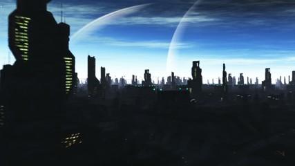 Sci-Fi City Flight Night
