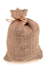 Le sac en toile de jute