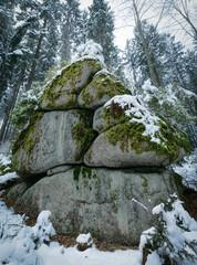Waldviertler Felsformation Bärnkopf1