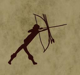 Tribal archer