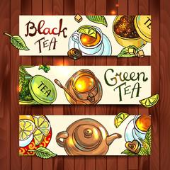tea banners