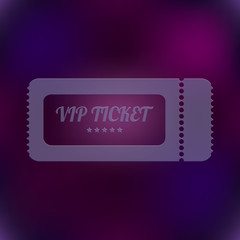 vector VIP ticket