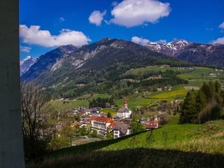 Gossensaß Südtirol aus Sicht der Brennerautobahn