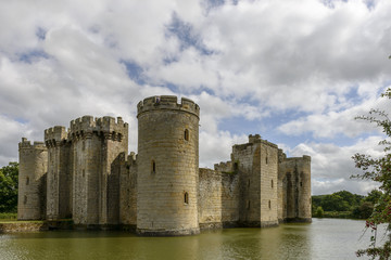 Bodiam castle north east view