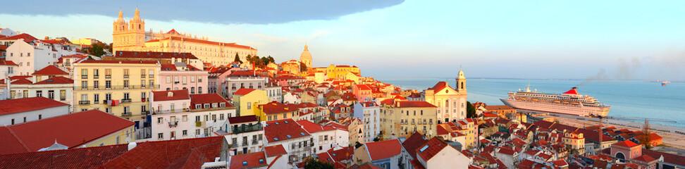 Lisbon Old Town skyline