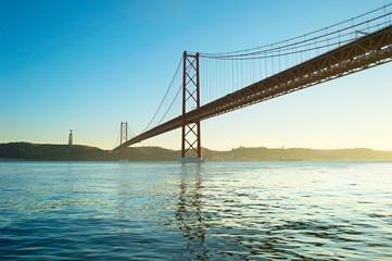 Red Lisbon Bridge