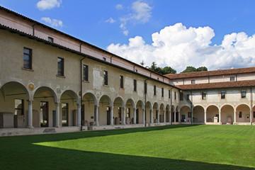 Chiostro Santa Giulia Brescia