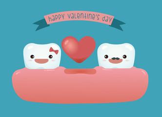 Happy valentine's day of dental