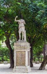 Statue in garden of Villa Celimontana, Rome