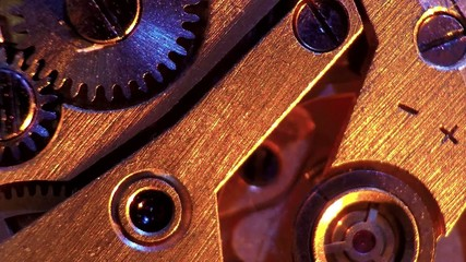 vintage watch machinery macro detail  a natural sound