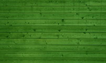 Grüner Holzbretter als rustikaler Hintergrund