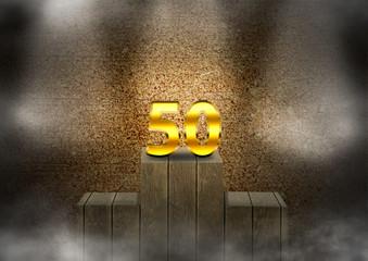 50 no pódio