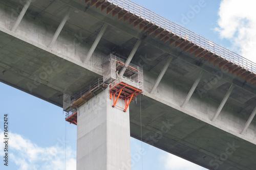 Sanierung einer Autobahnbrücke