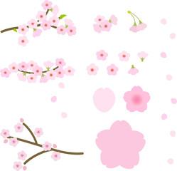 桜のデコレーションセット