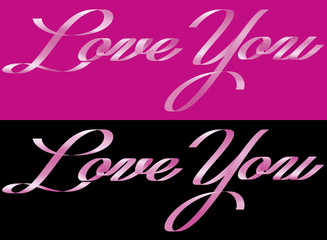 LOVE YOU FROM RIBBON