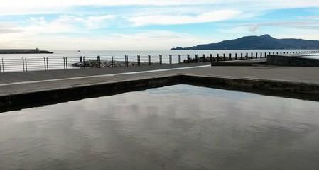 Sky reflection to Chiavari