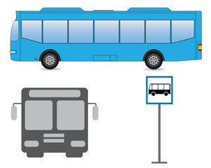 vector bus images