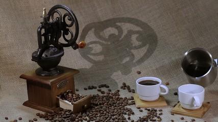 beautiful interior with coffee