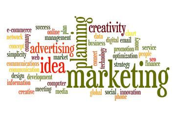 Marketing word cloud concept 3