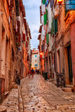 Rovinj's medieval old town, Croatia - 76476204