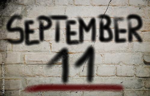 Poster September 11 Concept