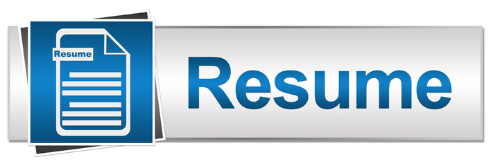 Resume Button Style