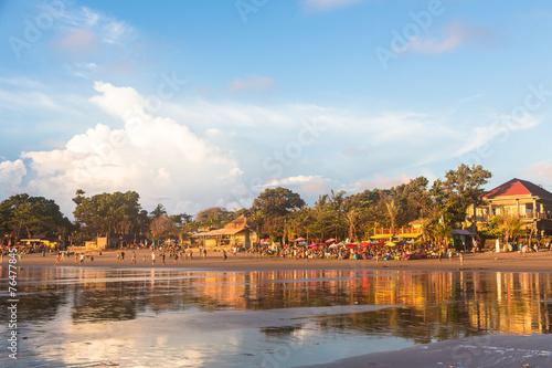 Foto op Canvas Indonesië Kuta beach in Seminyak