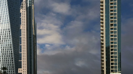 Modern skyscrapers, Dubai Marina, Dubai