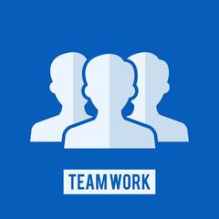 Team work sign
