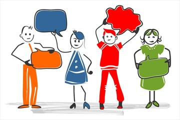 different people group Menschen Leute Gruppe