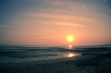 Sunset in paradise feel