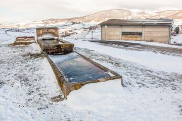 Fonte ghiacciata