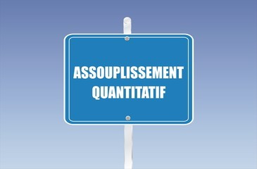 panneau assouplissement quantitatif