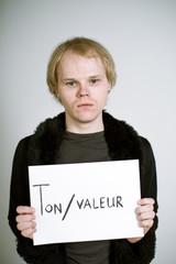 Ton valeur