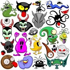 Doodles Monsters Caracters