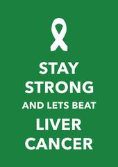 liver cancer poster