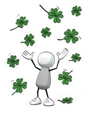 little sketchy man - rain of lucky clover