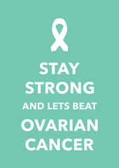 ovarian cancer poster